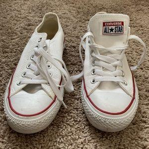 White converse size 7 1/2